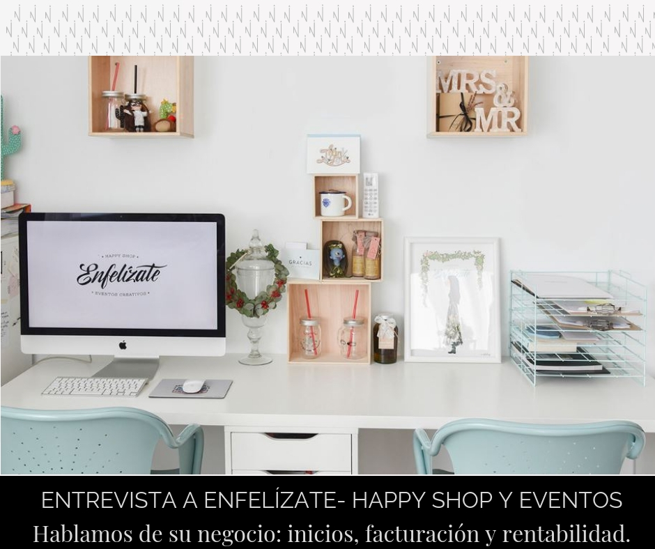 Entrevista a Enfelízate- Happy Shop y estudio de eventos creativos