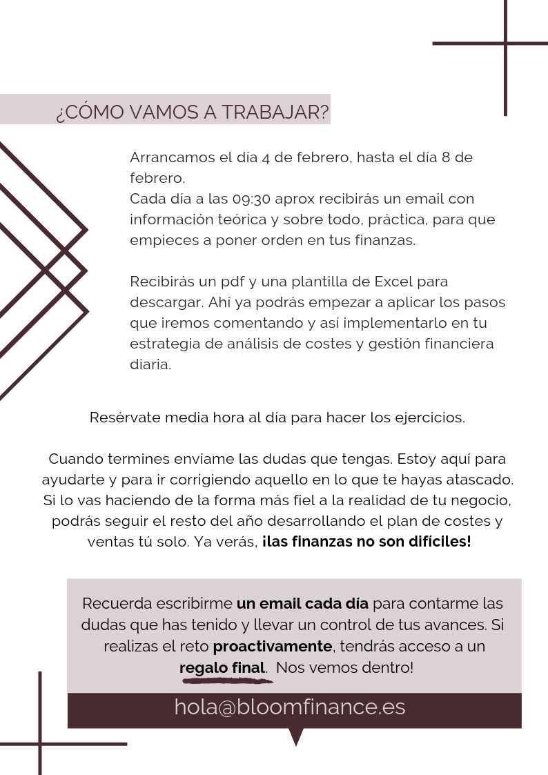 Como trabajaremos en el reto Bloom Finance