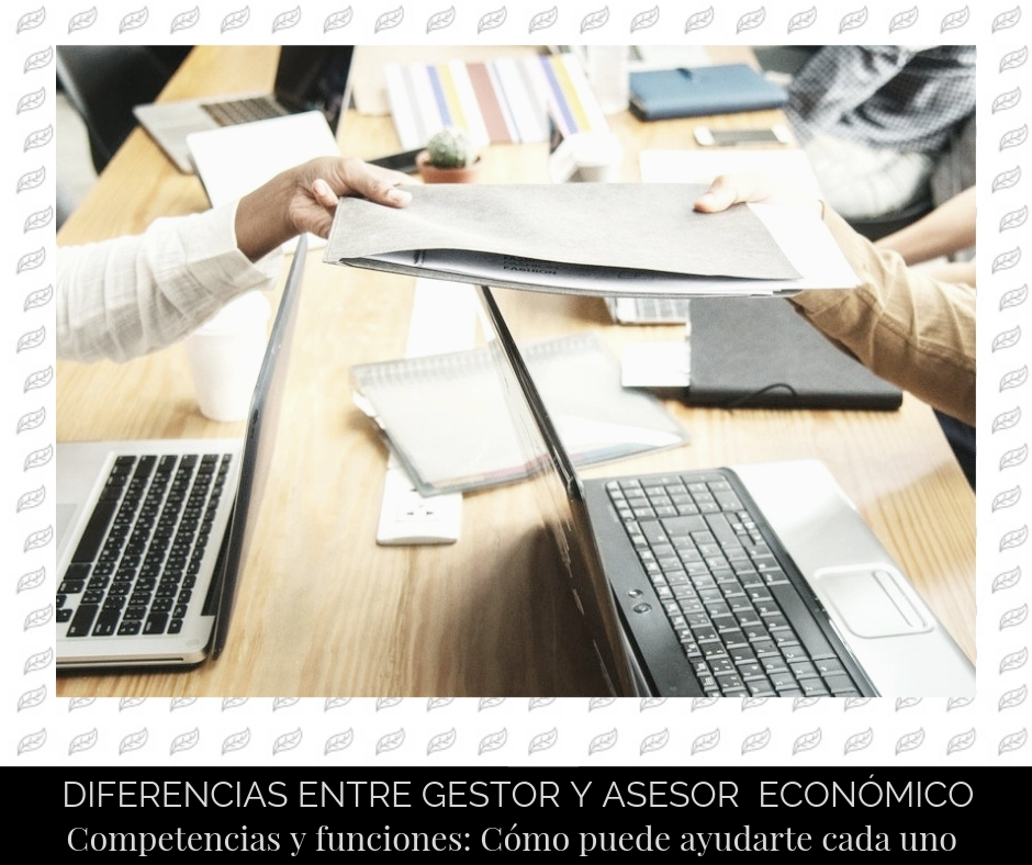 La diferencia entre un gestor y un asesor económico-financiero | Bloom Finance